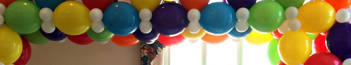 Купить разнокалиберные арки из шаров