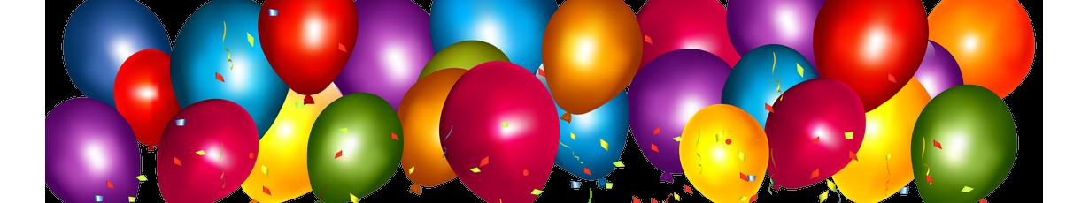 Букеты из шаров с гелием на день рождения с цифрами