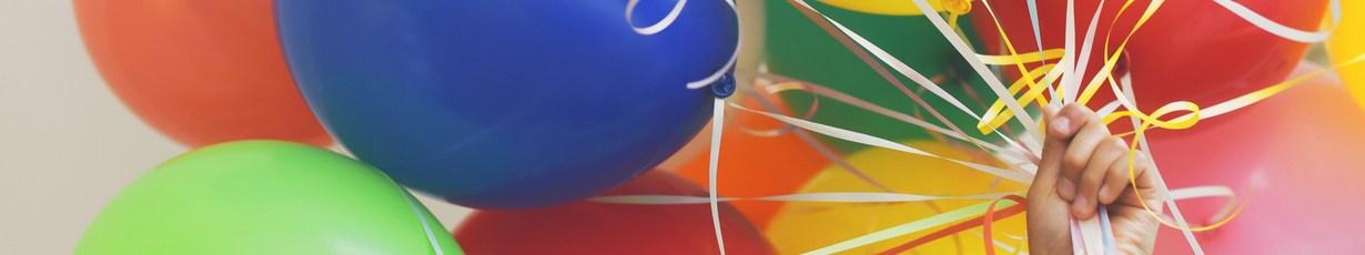 Композиции из гелиевых шаров для различных праздников