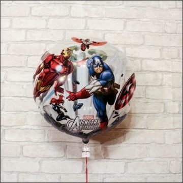 Bubble шар Мстители 55 см