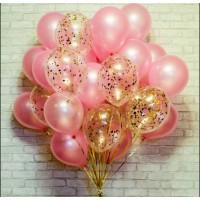 """Сет """"Блестящий розовый"""""""