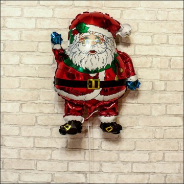 Дед мороз в очках 74см.