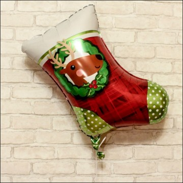 Носок рождественский 50см.