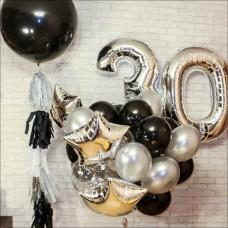 """Гелиевые шары на день рождения, сет """"Большое событие"""""""