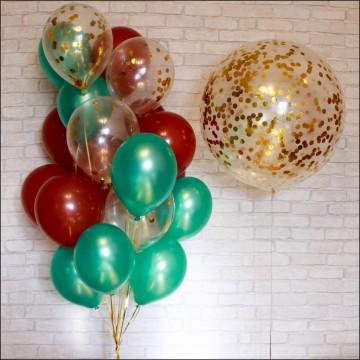 Большой шар 90 см с конфетти