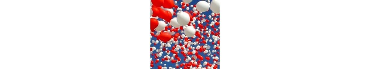 Напольные композиции из шаров с воздухом на день рождения