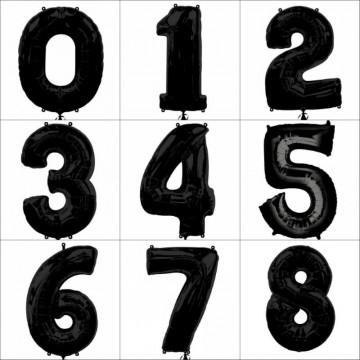 Цифры черные 102см.