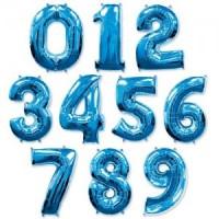 Цифры синие 102см.